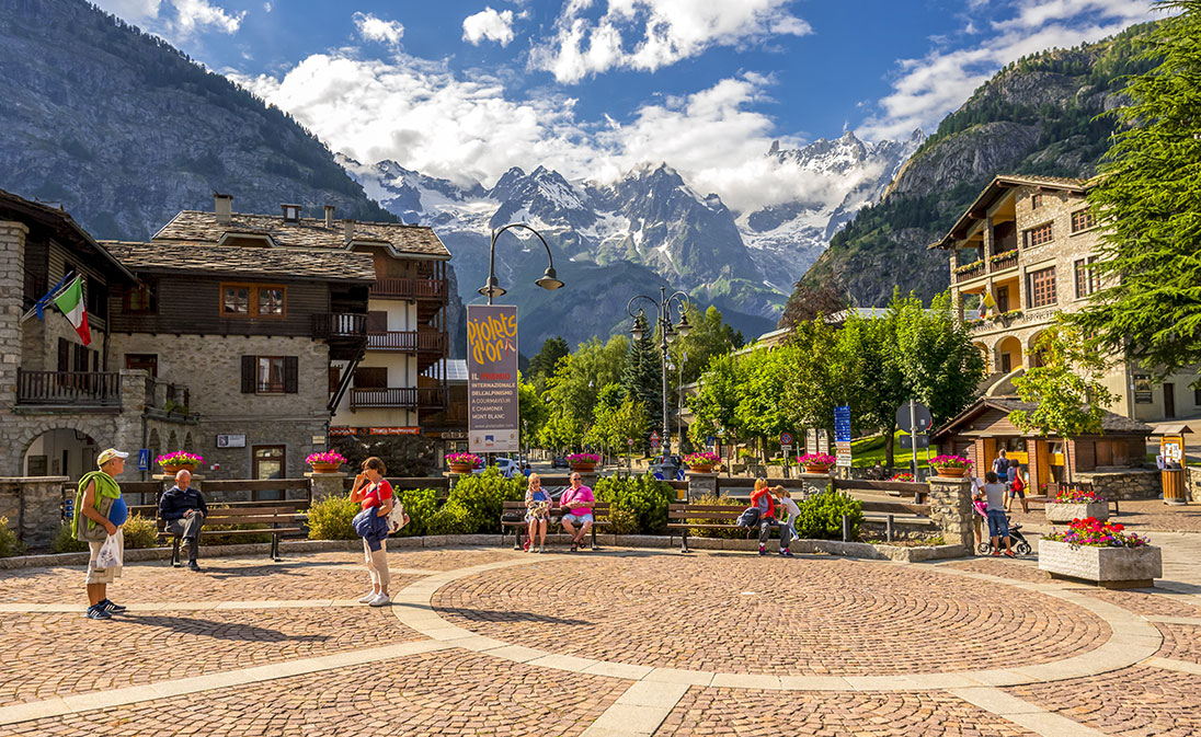 Courmayeur City Center