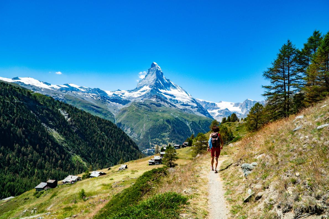 The path to Zermatt